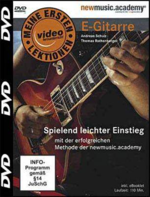 Firmenstempel Adressenstempel « E-GITARRE » mit Kissen Musiklehrer Gitarrist