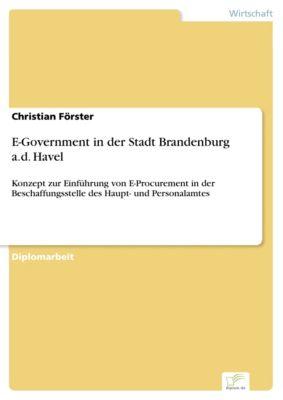 E-Government in der Stadt Brandenburg a.d. Havel, Christian Förster