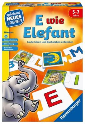 E wie Elefant