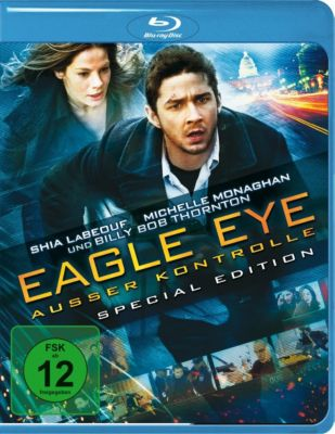 Eagle Eye - Ausser Kontrolle, Shia Labeouf,michelle Monaghan Rosario Dawson