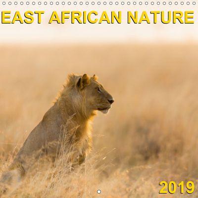 East African Nature (Wall Calendar 2019 300 × 300 mm Square), Gerd-Uwe Neukamp
