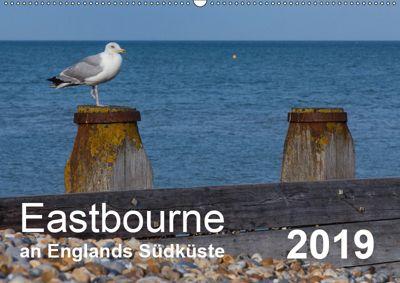 Eastbourne an Englands Südküste (Wandkalender 2019 DIN A2 quer), Stefanie Perner