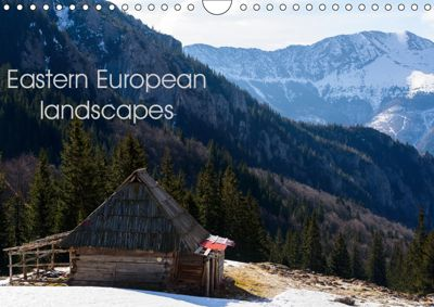 Eastern European landscapes (Wall Calendar 2019 DIN A4 Landscape), Ioan Alexandru Todor