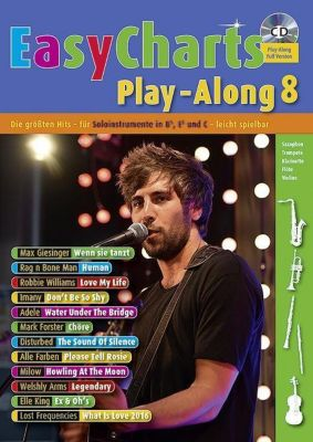 Easy Charts Play-Along, für Bb/Eb/C-Instrumente, m. Audio-CD