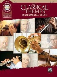 Easy Classical Themes Instrumental Solos, Flute, w. Audio-CD, Alfred Music
