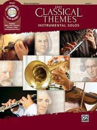 Easy Classical Themes Instrumental Solos, Tenor Saxophone, w. Audio-CD, Alfred Music
