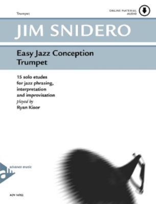 Easy Jazz Conception, Trumpet, w. Audio-CD