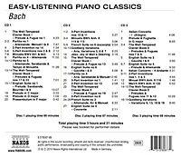 Easy Listening Piano Classics: Bach - Produktdetailbild 1