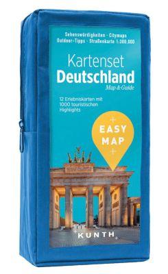 EASY MAP Kartenset Deutschland -  pdf epub