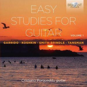 Easy Studies For Guitar Vol.1, Cristiano Porqueddu