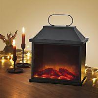 deko kamin nostalgie mit flammeneffekt bestellen. Black Bedroom Furniture Sets. Home Design Ideas