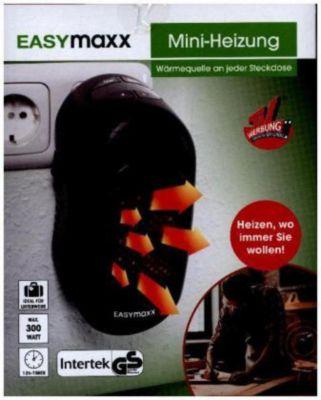 EASYmaxx Mini-Heizung 300W schwarz