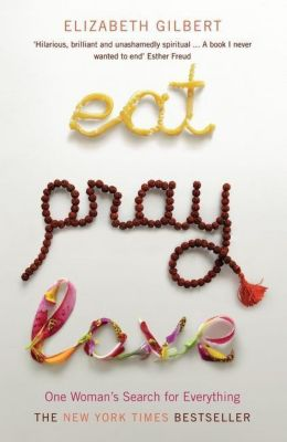Eat, Pray, Love, English edition, Elizabeth Gilbert