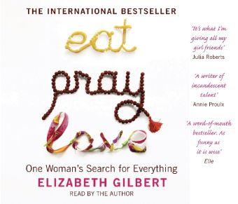 Eat, Pray, Love, English edition, Audio-CD, Elizabeth Gilbert