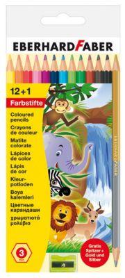 Eberhard Faber Farbstifte, 12+1
