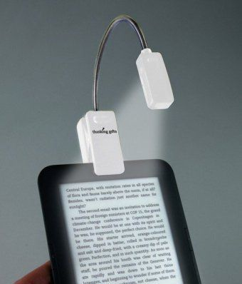 eBook Reader Booklight - Weiß, Leselampe