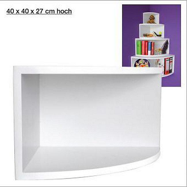 Eck-Regal, matt-weiß, 40 x 40 cm jetzt bei Weltbild.de bestellen
