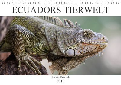 Ecuadors Tierwelt (Tischkalender 2019 DIN A5 quer), Jeanette Dobrindt