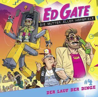 Ed Gate - Folge 04, 1 Audio-CD, Dennis Kassel