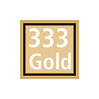 """Edelstein-Ohrringe """"Maila"""", 333er Gelbgold - Produktdetailbild 3"""