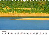 Edersee - Landschaftsformen bei Niedrigwasser (Wandkalender 2019 DIN A4 quer) - Produktdetailbild 7