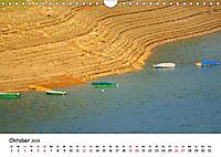 Edersee - Landschaftsformen bei Niedrigwasser (Wandkalender 2019 DIN A4 quer) - Produktdetailbild 10