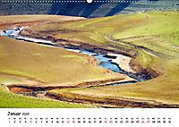Edersee - Landschaftsformen bei Niedrigwasser (Wandkalender 2019 DIN A2 quer) - Produktdetailbild 1