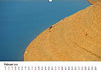 Edersee - Landschaftsformen bei Niedrigwasser (Wandkalender 2019 DIN A2 quer) - Produktdetailbild 2