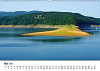 Edersee - Landschaftsformen bei Niedrigwasser (Wandkalender 2019 DIN A2 quer) - Produktdetailbild 5
