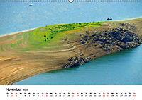 Edersee - Landschaftsformen bei Niedrigwasser (Wandkalender 2019 DIN A2 quer) - Produktdetailbild 11