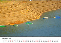 Edersee - Landschaftsformen bei Niedrigwasser (Wandkalender 2019 DIN A2 quer) - Produktdetailbild 10