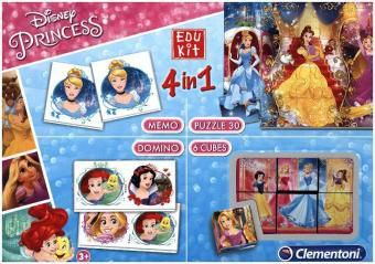 Edu Kit 4 in 1, Disney Princess (Kinderspiel)