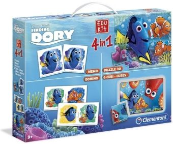 Edu Kit 4 in 1 (Kinderspiel), Findet Dorie