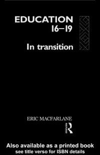 Education 16-19, Eric MacFarlane
