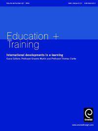 Education + Training: Education + Training, Volume 46, Issue 6 & 7
