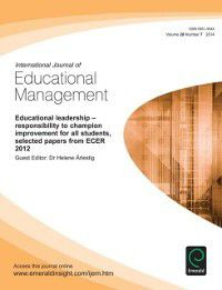 Educational Leadership - responsibility to champion improvement for all students, selected papers from ECER 2012