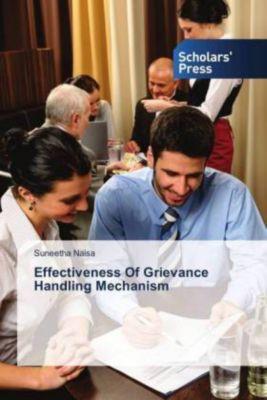Effectiveness Of Grievance Handling Mechanism, Suneetha Naisa
