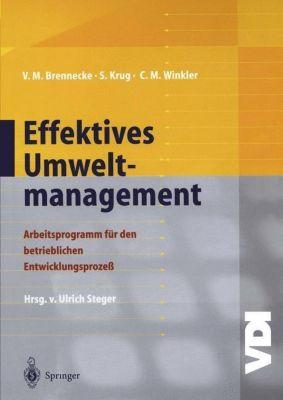 Effektives Umweltmanagement, Volker Brennecke, Sebastian Krug, Claudia M. Winkler