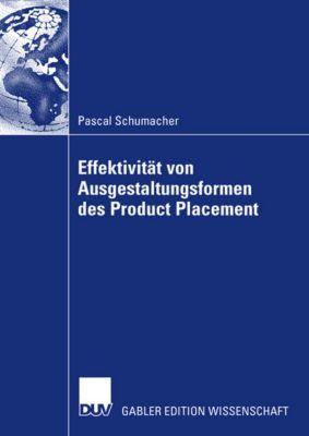 Effektivität von Ausgestaltungsformen des Product Placement, Pascal Schumacher