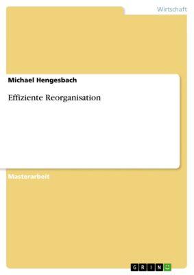 Effiziente Reorganisation, Michael Hengesbach