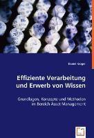 Effiziente Verarbeitung und Erwerb von Wissen, Daniel Kröger