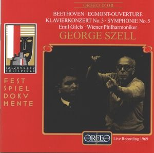 Egmont-Ouvert./Klavierkonzert 3/Sinfonie 5, Gilels, Szell, Wp