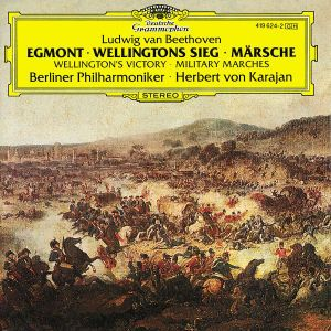 Egmont/Wellingtons Sieg/Märsche, Herbert von Karajan, Bp