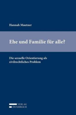 Ehe und Familie für alle?, Hannah Mautner