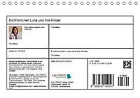 Eichhörnchen Luna und ihre Kinder (Tischkalender 2019 DIN A5 quer) - Produktdetailbild 13