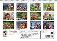 Eichhörnchen Luna und ihre Kinder (Wandkalender 2019 DIN A3 quer) - Produktdetailbild 13