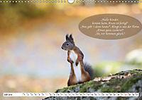 Eichhörnchen - Lustige Kurzgeschichten mit den quirligen Wildtieren (Wandkalender 2019 DIN A3 quer) - Produktdetailbild 7