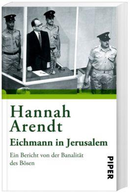 Eichmann in Jerusalem, Hannah Arendt