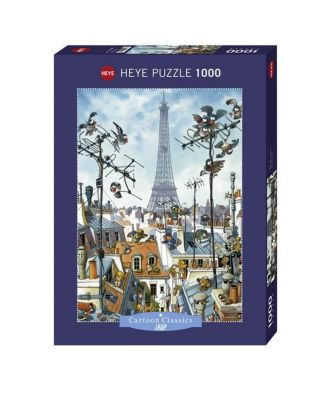 Eiffel Tower (Puzzle), Jean-Jacques Loup