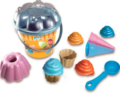 Eimergarnitur Eiscreme/Cupcakes 12tlg.